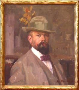 1910, Selbstporträt