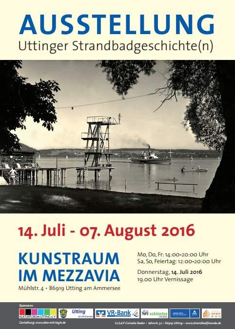Uttinger-Strandbadgeschichten-Plakat